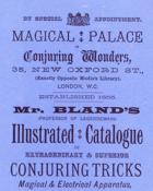 Bland, Conjuring Wonders