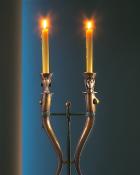 Doppel-Leuchter